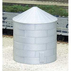 30' Tall Corrugated Grain Bin
