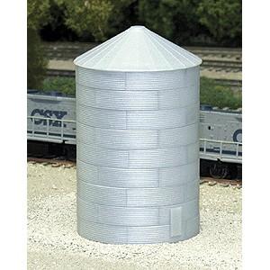 40' Tall Corrugated Grain Bin