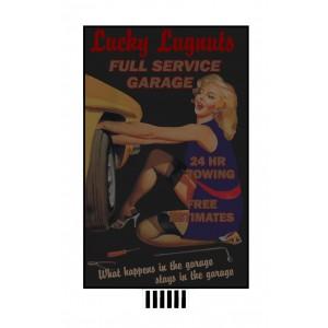 Flashing Billboard - Lucky Lugnuts