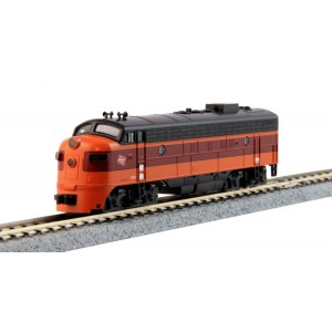 EMD FP7A - Milwaukee Road 95C