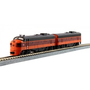 EMD FP7A/F7B - Milwaukee Road 95A/95B (DCC Equipped)(2pk)