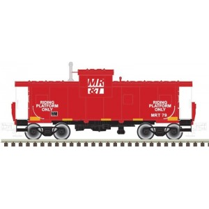 Extended Vision Caboose - Milwaukee Racine & Troy 79