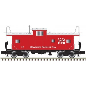 Extended Vision Caboose - Milwaukee Racine & Troy 72