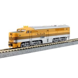 PA-1 - Denver & Rio Grande 6011 (DC,DCC & Sound)