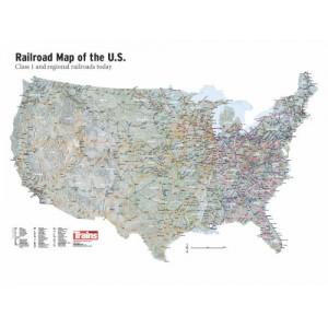US Railroads Map