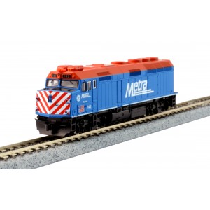 F40PH - Chicago Metra 142 (DCC Equipped)