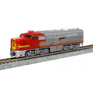 ALCo PA-1 - Santa Fe 74L (DCC Equipped)