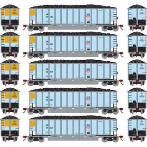 Bethgon Coalporter w/Load - Union Pacific 1 (5pk)
