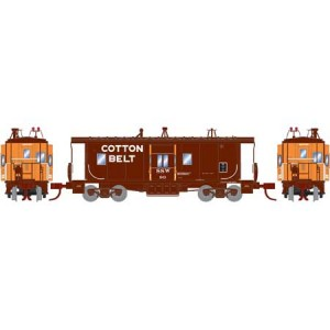 Bay Window Caboose C50-7 - Cotton Belt 90
