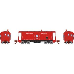 Bay Window Caboose - Western Pacific 481