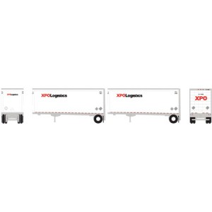28' Wedge Trailers with Dolly - XPO (2pk)