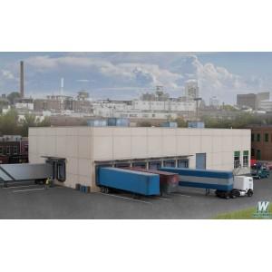 Modern Concrete Warehouse