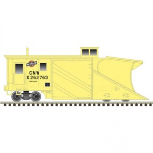 Russell Snow Plow - Chicago & North Western X-262763