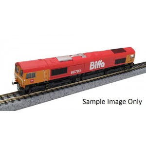 Class 66783 - GBRf Biffa The Flying Dustman