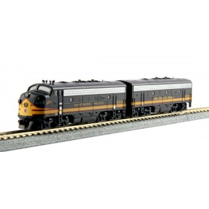 EMD F7A & F7B - Northern Pacific 6012A 6012B (DCC Equipped)
