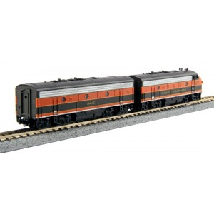 EMD F7A/B - Great Northern 444D/444C (DCC Equipped)