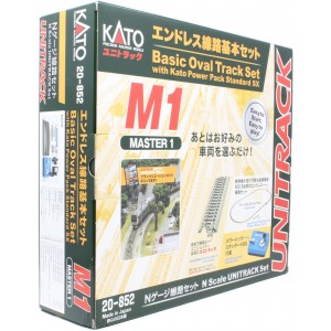 (M1) Unitrack Basic Oval Track Set w/Controller
