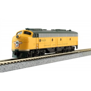EMD E8A - Chicago & North Western 5502B (DCC Equipped)