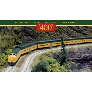 "Chicago & NorthWestern ""400"" Boxed Train Set (DC,DCC & Sound)"