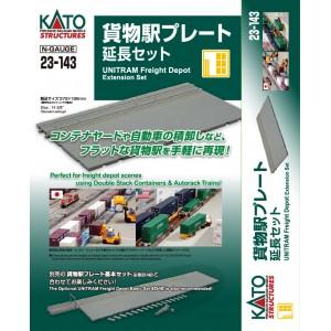 Unitram Freight Depot Extension Set