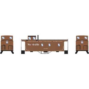 Wood Side Caboose - Rio Grande 01159