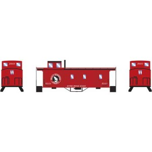 Wood Side Caboose - Great Northern X678