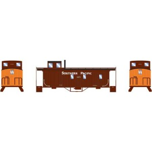 Wood Side Caboose - Southern Pacific 412
