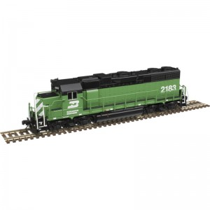GP38 - Burlington Northern 2183 (DC,DCC & Sound)