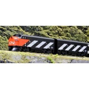 EMD F7A/B - Canadian National 9080/9057 (DCC Equipped)