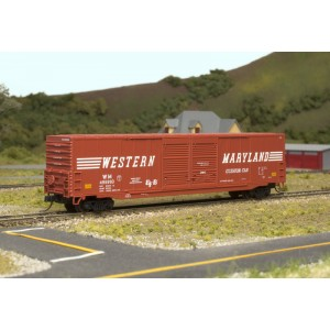 ACF 60' Box Car - Western Maryland 495991