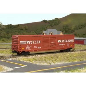 ACF 60' Box Car - Western Maryland 495993