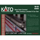 New York Central 20th Century Limited 9 Car Set