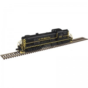 RS-2 - Frisco 552 (DCC Equipped)