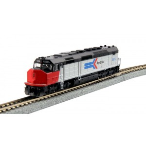 SDP40F - Amtrak Ph I 501 (DC, DCC & Sound)