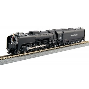 Steam 4-8-4 FEF-3 - Union Pacific 838 (Freight Version)(DC,DCC & Sound))