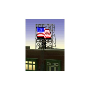 American Flag Billboard (Small)