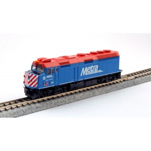 F40PH - Chicago Metra 160 (DCC Equipped)
