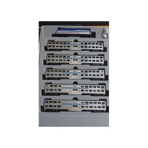 VRE F40PH & Bi-Level Capital Commuter 6 Unit Set (DCC Equipped)