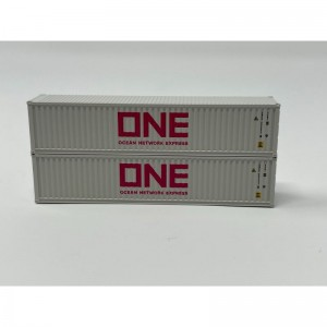 40′ Magnetic Intermodal Container  – Grey Ocean Network Express (ONE)(2pk)