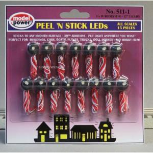 Peel Stick n Light (15pk)