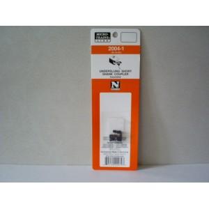 (2004-1) Assembled Underslung Short Shank Coupler (2pr)