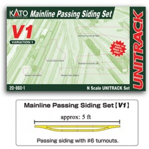 Unitrack V1 Mainline Passing Siding Set