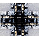 """Unitrack 90 Crossing 124mm (4 7/8"""")"""
