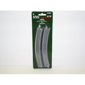 "Unitrack Curved Track 30 Degree 348mm (13 3/4"") Radius (4pk)"