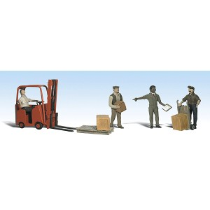 Workers with Forklift (5pk)