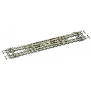 Code 55 Scissors Crossover Medium Radius - Electrofrog