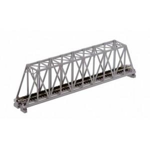 "Unitrack Single Truss Bridge - 248mm (9.75"") Gray"