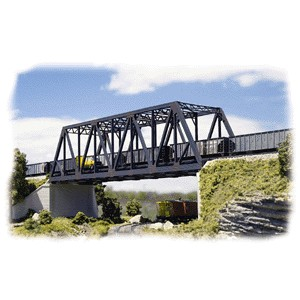 Double Track Truss Bridge