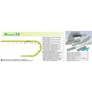 Unitrack V12 Double Track Viaduct Set