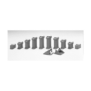 "Unitrack Gradual Incline Pier Set (7/16 - 1-5/8"" 11-42mm High)"